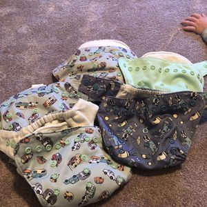 30 Cloth Diapers, Trash Liners And Inserts for Sale in San Diego, CA