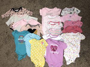 Baby girl onesie (Set of 18) for Sale in Glenn Dale, MD