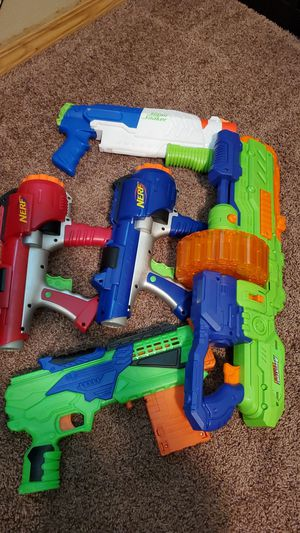Nerf guns (make offer) for Sale in Battle Ground, WA