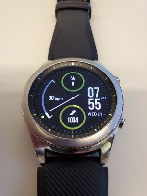 Samsung Gear S3 Watch Bluetooth and LTE excellent with new band for Sale in Atlanta, GA