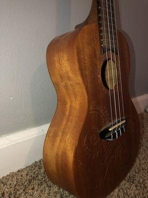 LUNA Ukulele (Tattoo concert mahogany ukulele with gig bag) for Sale in Snohomish, WA