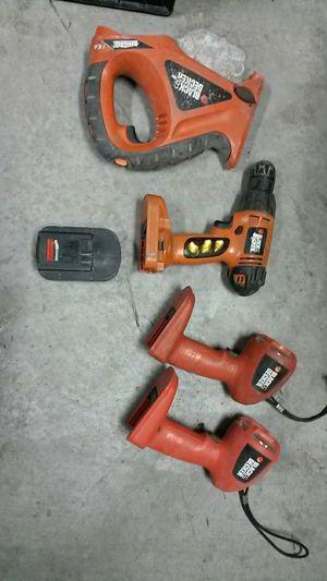 black n decker power tools for Sale in Las Vegas, NV