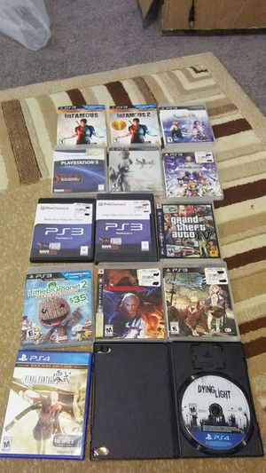 Ps3 & Ps4 games for Sale in Baltimore, MD