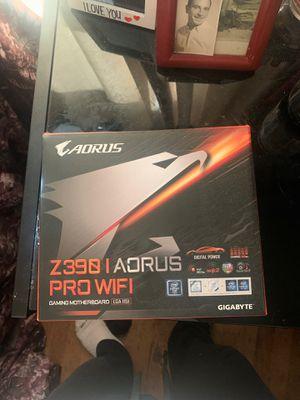 Z390 1 Aorus pro WiFi micro motherboard for Sale in Asheville, NC