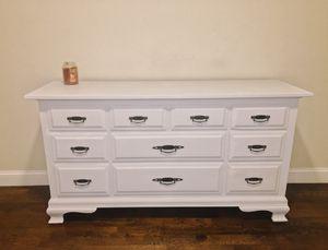 Beautiful light grey dresser for Sale in Boston, MA