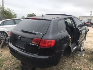 Audi A3 wagon 2.0 turbo parting part out hatch rear bumper hatch trunk lid taillights door glass for Sale in San Marcos, TX
