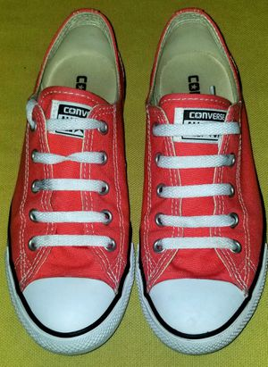 Women's 7/Men's 5 CHUCK TAYLOR CONVERSE ALL STARS LOW TOP SHOES for Sale in Portland, OR