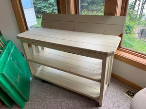 Table/TV Stand Shelving for Sale in Traverse City, MI