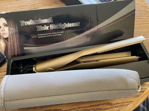 Professional hair straightener curling styling with advanced ceramic technology for Sale in Las Vegas, NV