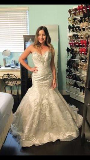 Isabella Chessari Mermaid Wedding Dress for Sale in Hollywood, FL