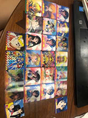 Sailor moon rare face changing holo cards for Sale in Homestead, FL
