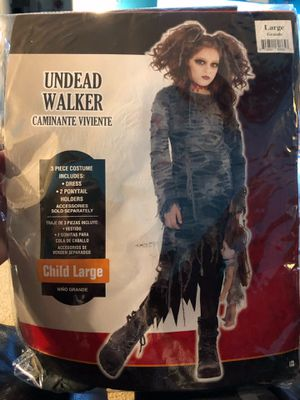 Kids undead walker costume for Sale in St. Peters, MO