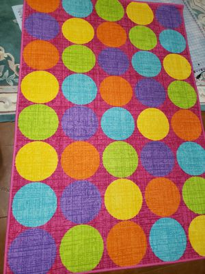 "53""X79"" colorful rug for Sale in Troup, TX"