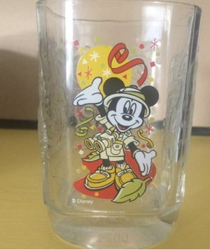 Disney 2000 Mickey Mouse Glass Disney World Celebration Collectible Glassware for Sale in Wyoming, MI