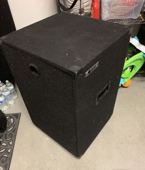 Odyssey Amplifier rack with casters and carpeted - DJ equipment for Sale in San Diego, CA
