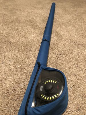 New Redington Crosswater 586-2 Fly Fishing Rod Reel Combo for Sale in Plainfield, IL