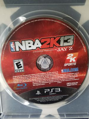 NBA 2K13 (PS3) for Sale in US