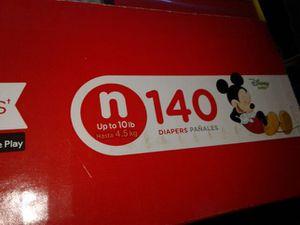 Huggies nb 140 c.t. diaperz for Sale in Escondido, CA