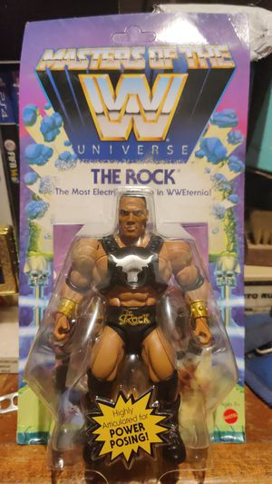 Masters of the universe the rock action figure for Sale in Compton, CA