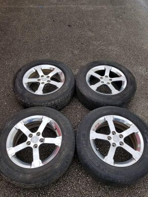 Rims 17 Saturn 5 lugs 114.3 mm for Sale in Davie, FL
