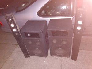 Digital pro audio and monster home theatre for Sale in Sacramento, CA