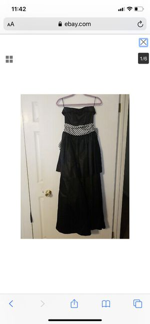 Vintage 1980's Gunne Sax Prom Dress/Evening Gown Size 7 for Sale in Lexington, NC