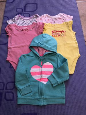 5 Baby girl clothes ALL $8 for Sale in Pomona, CA