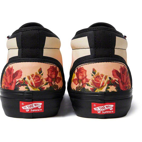 Supreme®/Vans® Jean Paul Gaultier® Floral Print Chukka Pro