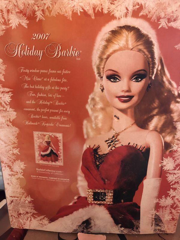 Holiday Barbie 2007