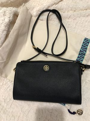 Tory burch crossbody color negra for Sale in Houston, TX