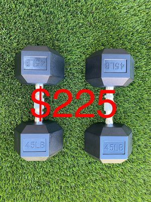 Dumbbell 45 Pounds for Sale in Long Beach, CA