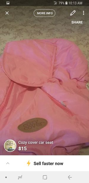 Cozy cover car seat for Sale in Rochester, MN