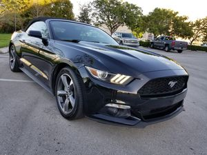 Excellent 2015 Ford Mustang Convertible for Sale in Fort Lauderdale, FL