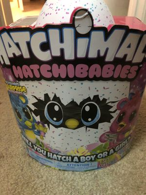Hatchimals brand new for Sale in Mooresville, NC
