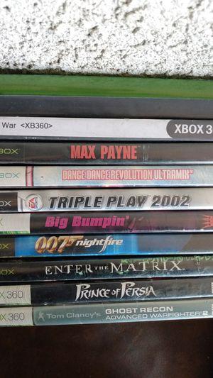 Xbox and Xbox 360 games for Sale in San Bernardino, CA