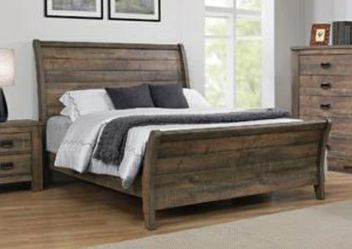 CLOSEOUTS LIQUIDATIONS SALE BRAND QUEEN SIZE 4PC BEDROOM SET AVAILABLE IN KING SIZE. ADD MATTRESS. NEW FURNITURE COASTER for Sale in Pomona,  CA
