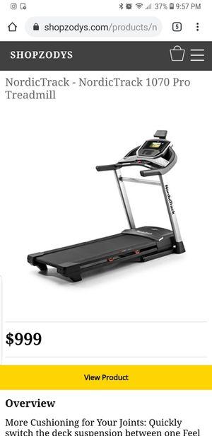 Nordictrack C 1070 pro treadmill for Sale in Nashville, TN
