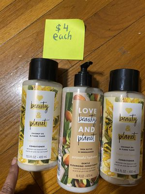 Beauty & planet conditioners NEW for Sale in Des Plaines, IL