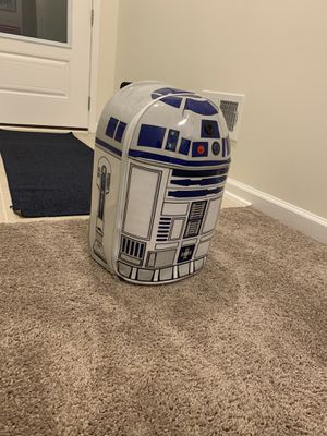 Star Wars R2D2 talking Disney suitcase for Sale in VA, US