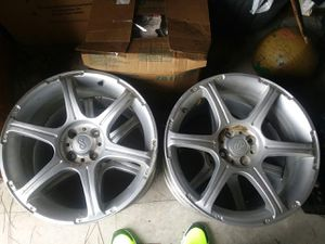 17 inch Enkei rims without tires. 4 lug. Will most likely fit a Honda Civic. for Sale in Fitzgerald, GA