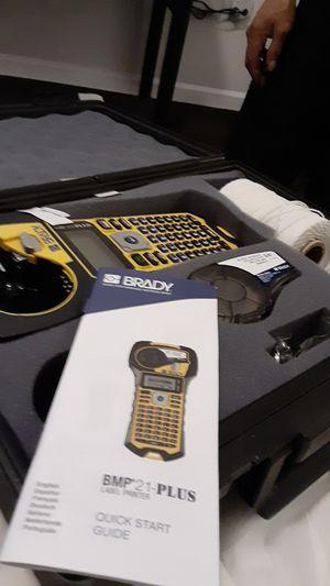 "Brady bmp""21-plus label printer for Sale in Seattle, WA"