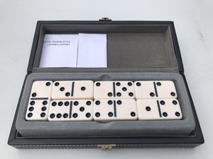 Domino set in leather case for Sale in Windsor, CT