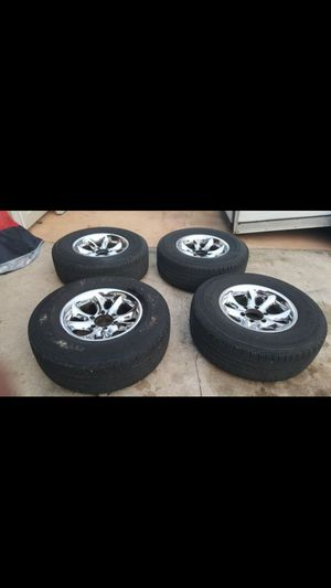 SET TIRES & RIMS 6 LUG P265/70R16 FOR CHEVY, TOYOTA, NISSAN for Sale in Tampa, FL