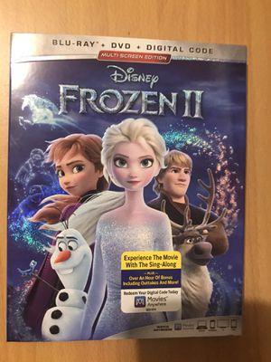 FROZEN 2 BLU-RAY DVD DIGITAL MOVIE for Sale in Long Beach, CA