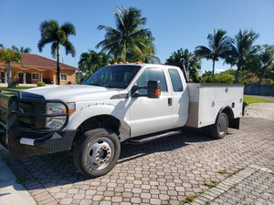 Ford f450 utility truck ready to work for Sale in Miami Gardens, FL