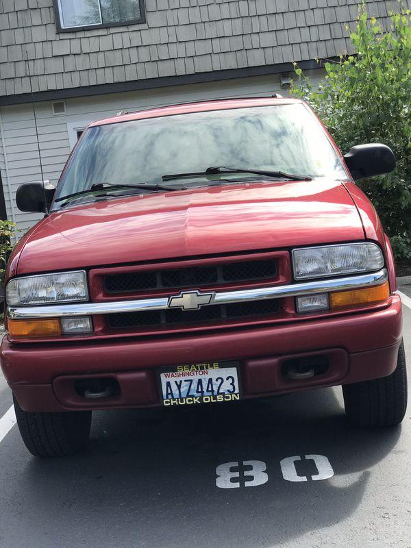 2000 Chevy Trail Blazer