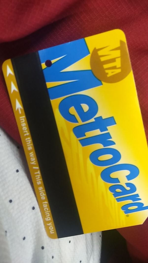 Unlimited metro card