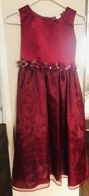Burgundy girl dress for Sale in La Puente, CA