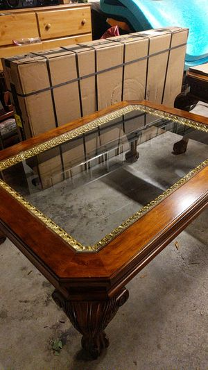Coffee Table w/ 2 end tables for Sale in Vancouver, WA