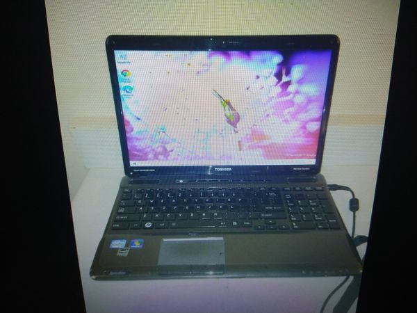 Fast Toshiba Satellite A665 Laptop i5 6 GB Ram